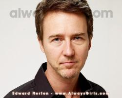 "Edward Norton Wallpaper - Right click your mouse and choose ""Set As Background"" to"