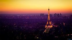 Eiffel Tower At Night Wallpaper 1080p