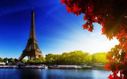 ... Eiffel Tower Autumn Wallpaper ...