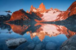 Fitz Roy (El Chalten) and Laguna de Los Tres, Patagonia, Argentina