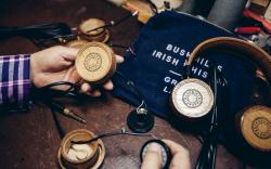 Elijah Wood and Zach Cowie Bushmills Irish Whiskey Grado Labs Headphones Exclusive