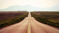Empty Highway Wallpaper