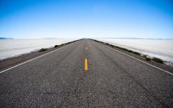 Free Empty Road Wallpaper