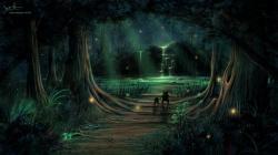 Enchanted Forest Wallpaper Hq Desktop 1920x1080px