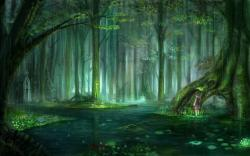Animals for Gt Enchanted Fairy Forest Wallpaper