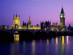 ... Big Ben, Houses of Parliament, London, England ...