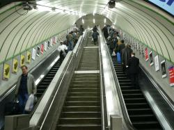 File:Paddington Bakerloo Line escalators.jpg