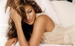 Eva Mendes Beautiful HD Wide Wallpaper for Widescreen