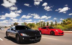 Porsche Maserati Luxury Coupe Exotic Cars Free HD Wallpapers