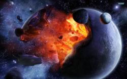 Exploding planet wallpaper 1920x1200 jpg