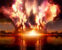 Explosion Res: 1280x1024 / Size:838kb. Views: 75092. More 3D & Digital Art Scene wallpapers