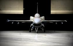 F-16 Fighter Aircraft Hangar