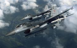 General Dynamics F-16 Fighting Falcon wallpaper 2560x1600 jpg