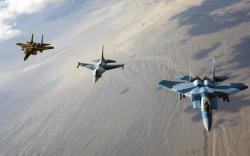 Awesome F16 Wallpaper