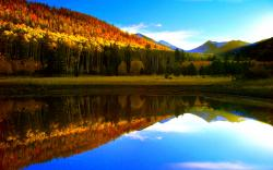 Fall Lake Wallpaper 14040