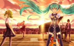 Fantastic Anime Music Wallpaper