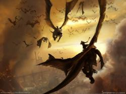 war dragons fantasy art horde dragon fantastic