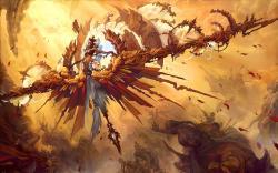Angel fantasy art