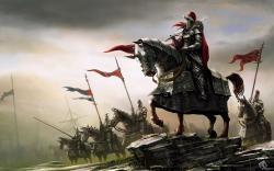 Fantasy Art Knights Warriors Horses