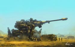 Fantasy cannon art