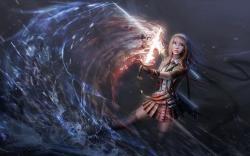 Fantasy sword girl