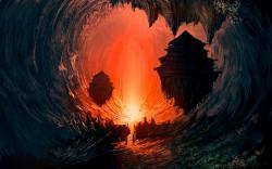 Fantasy underworld light
