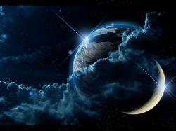 Moon Fantasy Desktop Wallpaper