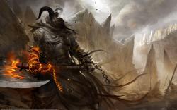 Fantasy Warrior Wallpaper Wide Desktop #15911
