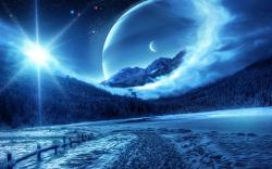 Winter Fantasy Scenery