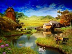 Farm Wallpaper HD