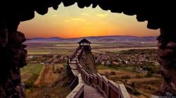 You can find Hungary Lookout Tower Sunset Wallpapers in many resolution such as 1024×768, 1280×1024, ...
