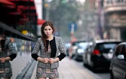 Fashion Model Girl Asian City