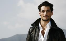 Download Wallpaper beard leather jacket male models fashion model david gandy -472284-48
