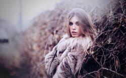 Fashion Model Winter Girl