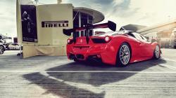 Ferrari 458 Italia GT3 Red Back