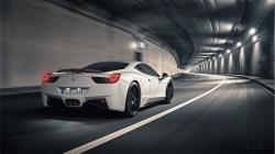 Ferrari 458 Italia Tunnel