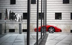 Ferrari 458 reflection