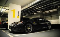 New Ferrari 599 GTO Black Best HD Picture