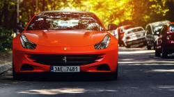Ferrari FF Orange Car