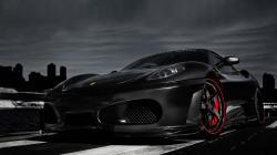 Black Ferrari Wallpaper HD