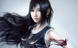 Final Fantasy Tifa Lockhart Digital