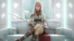 Lightning is the first character to specifically be designed as a female protagonist in any Final Fantasy game (remember, Terra was basically an accident ...