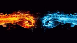 Fire and Ice fist