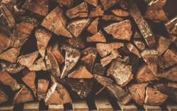 Firewood Wallpaper