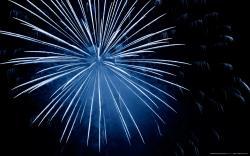 firework splash apstract widescreen