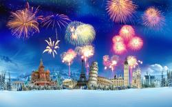 New Year Firework Wallpapers Pictures Photos Images. «