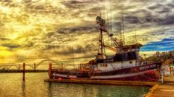 Fishing Boat Wallpaper 41867 2560x1600 px