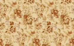 Vintage floral pattern wallpaper