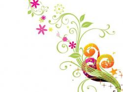 Floral Wallpaper Vector Art Floral vector hd wallpapers