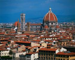 Florence, Italy, Map